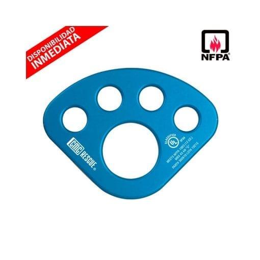 Placa Multianclaje Aluminio (NFPA)