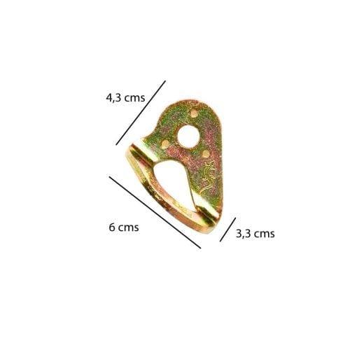 Plaqueta de Anclaje (D12)