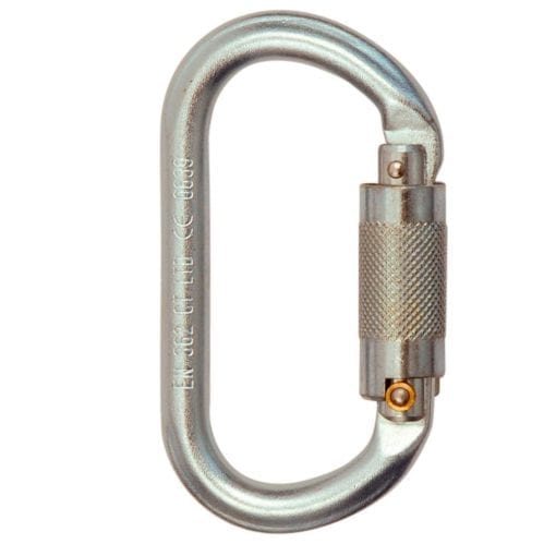 Mosquetón Oval Steel (Seguro Automático)