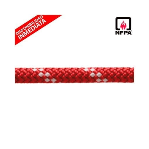 "Cuerda Estática Roja KM III 1/2"" (12,5 mm)"