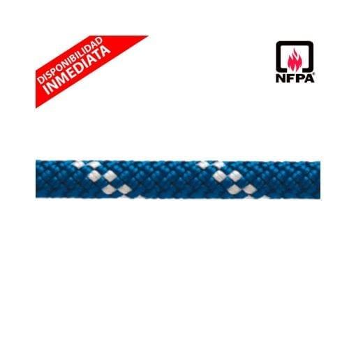 """Cuerda Estática Azul KM III 1/2"""" (12,5 mm)"""