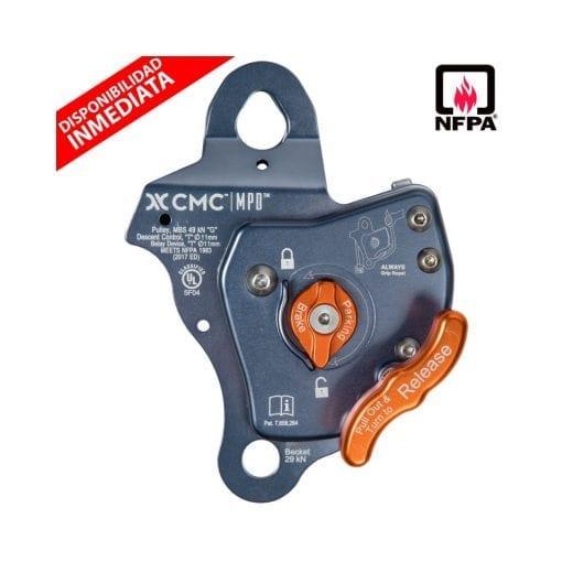 Dispositivo Multipropósito MPD™ (Polea, Asegurador y Descendedor) NFPA