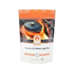 Comida Tortilla de Pollo con Arroz