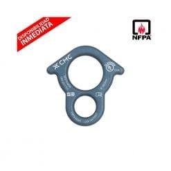 Descendedor / Asegurador Survivor 8 (aluminio) c/ orejas (NFPA)